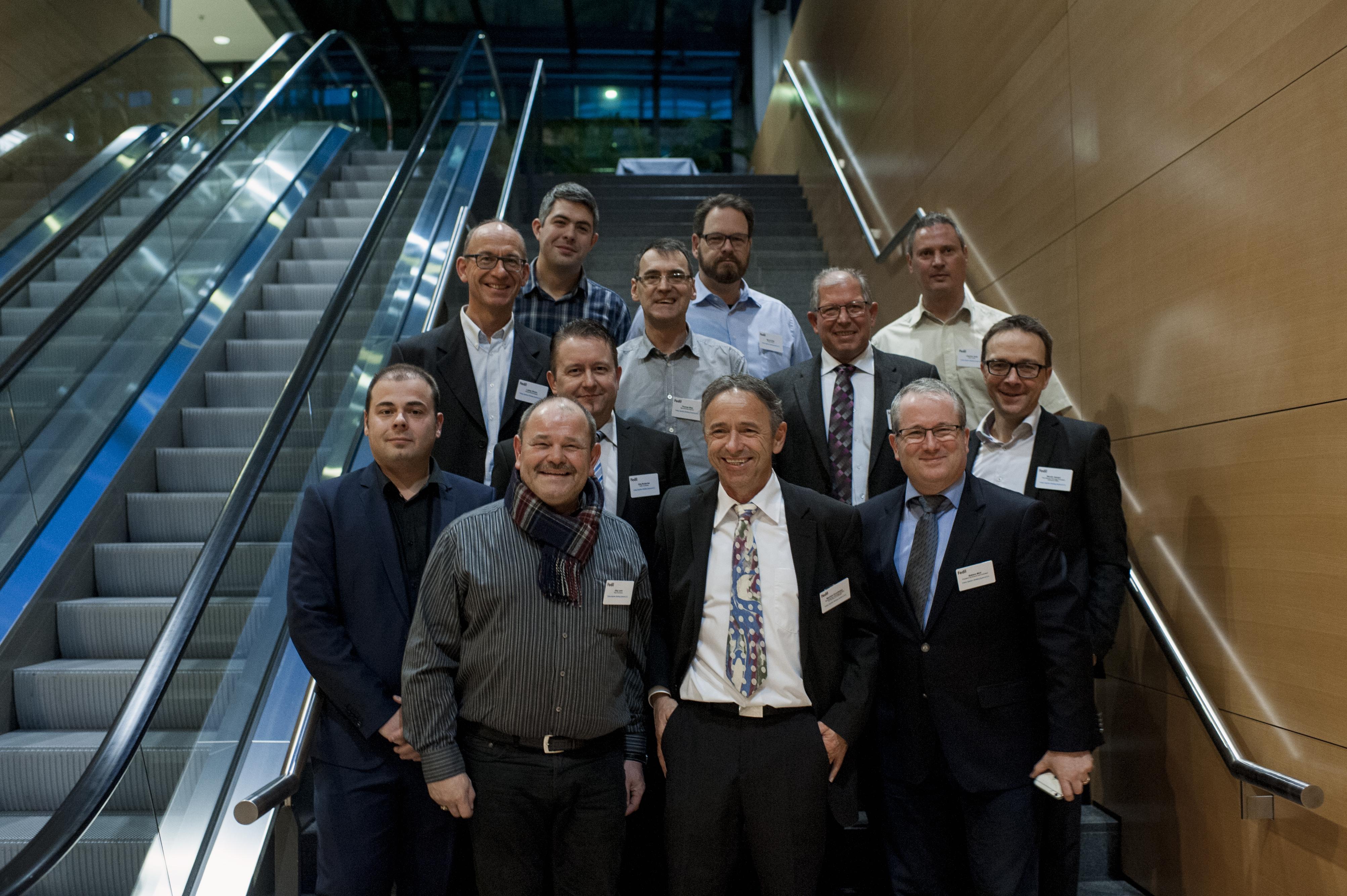 L'équipe de Husky Injection Molding Systems S.A., lauréate dans la catégorie « Process »